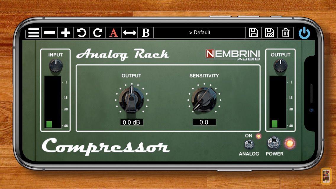 Screenshot - Analog Rack Compressor