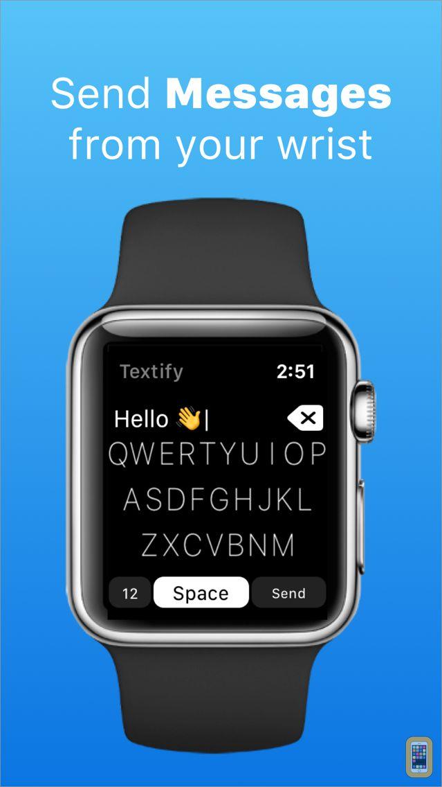 Screenshot - Textify - Watch Keyboard