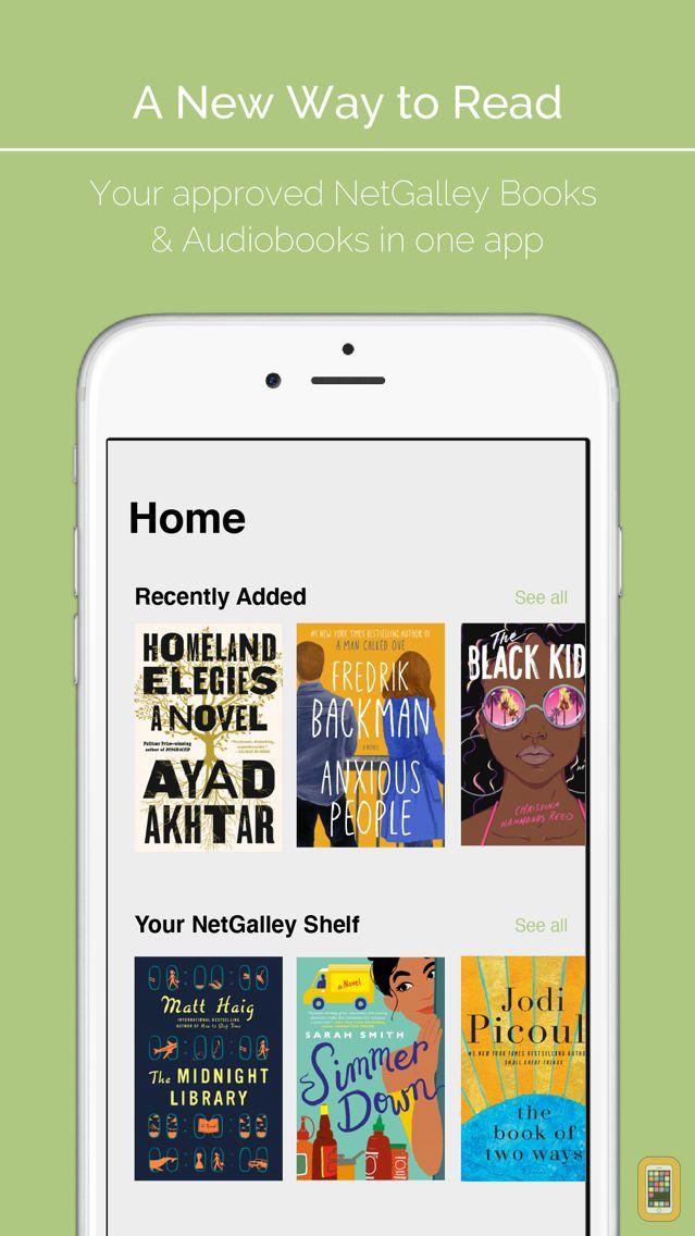 Screenshot - NetGalley Shelf
