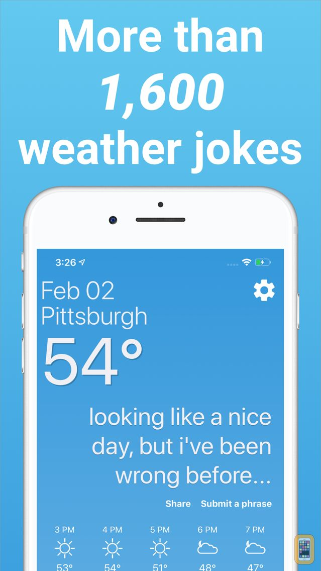 Screenshot - Funny Weather - Rude Forecasts