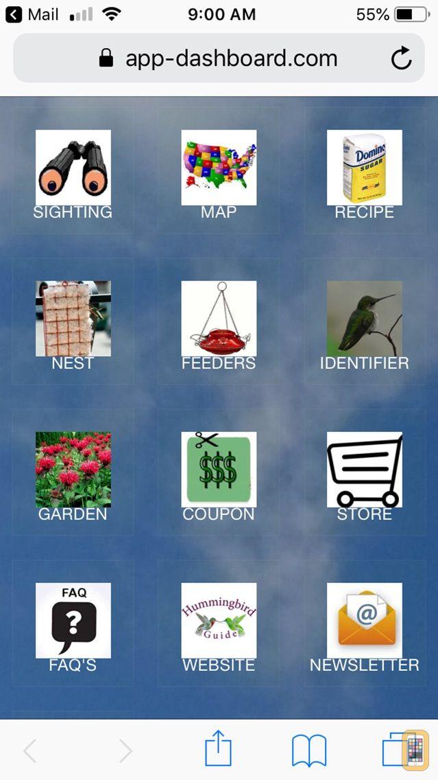 Screenshot - Hummingbird Tracker