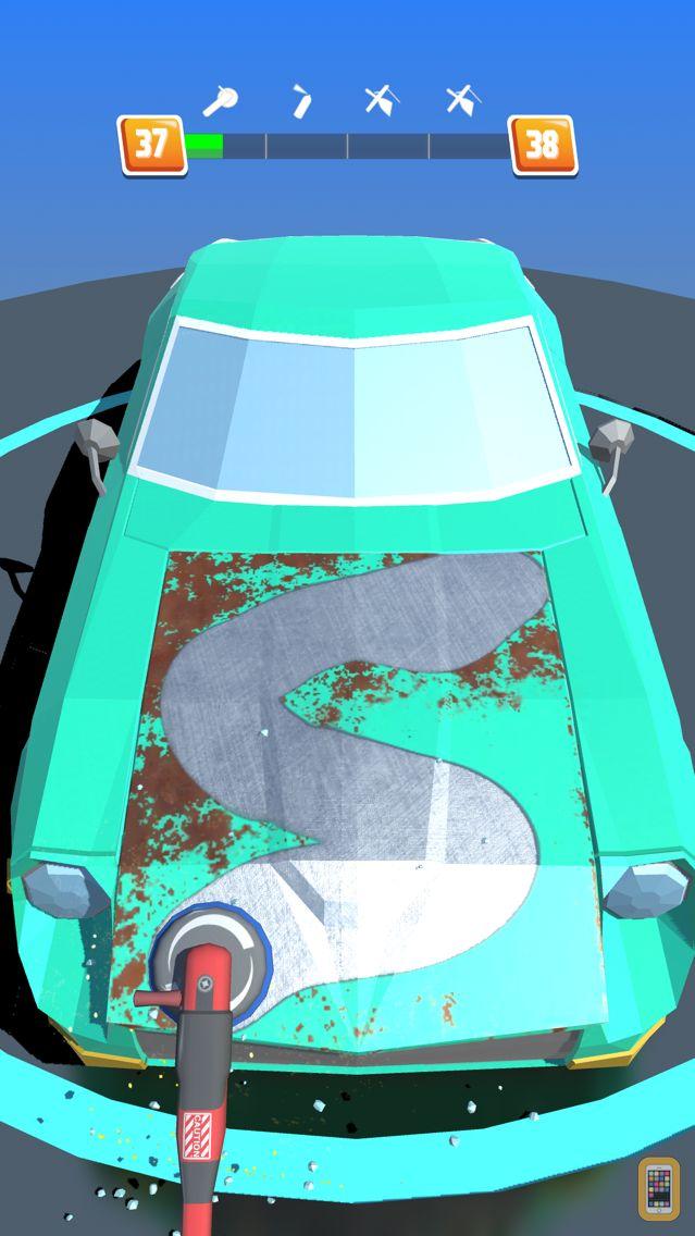 Screenshot - Car Restoration 3D