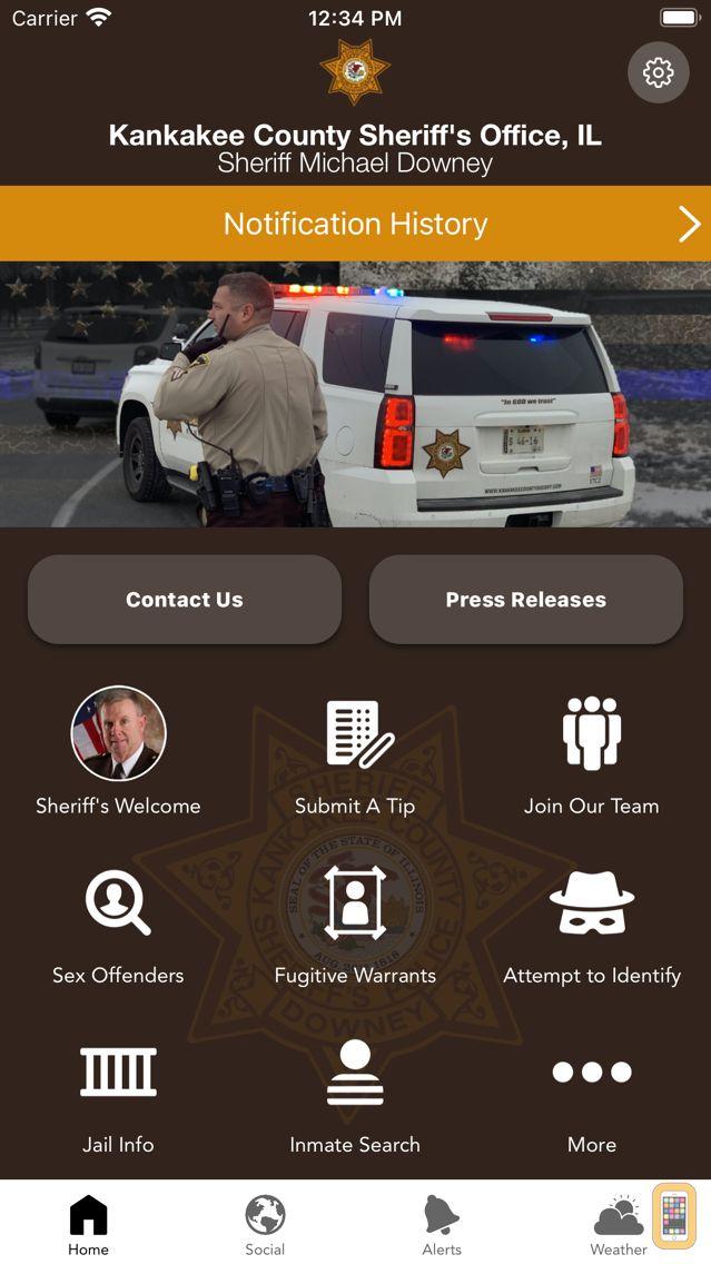 Screenshot - Kankakee County Sheriff IL