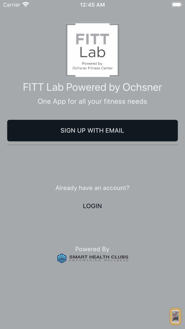 Screenshot - FITT Lab Powered by Ochsner