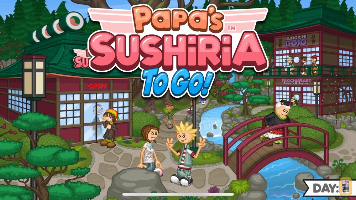 Screenshot - Papa's Sushiria To Go!