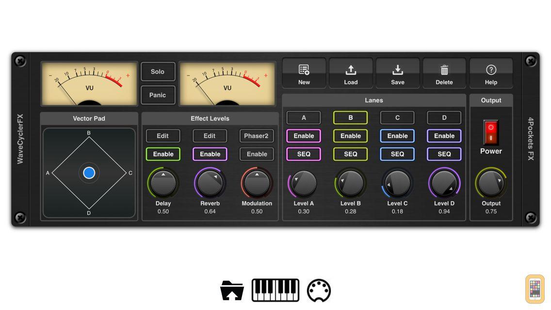 Screenshot - EvolverFX AUv3 Audio Plugin