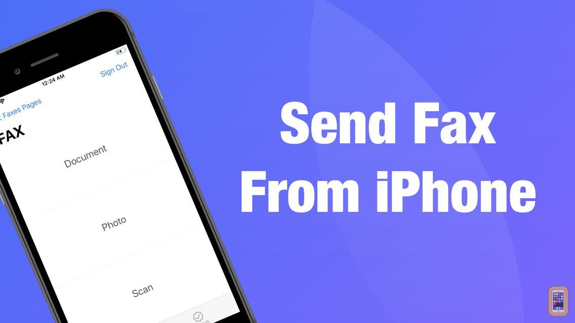 Screenshot - FAX App: Fax Documents