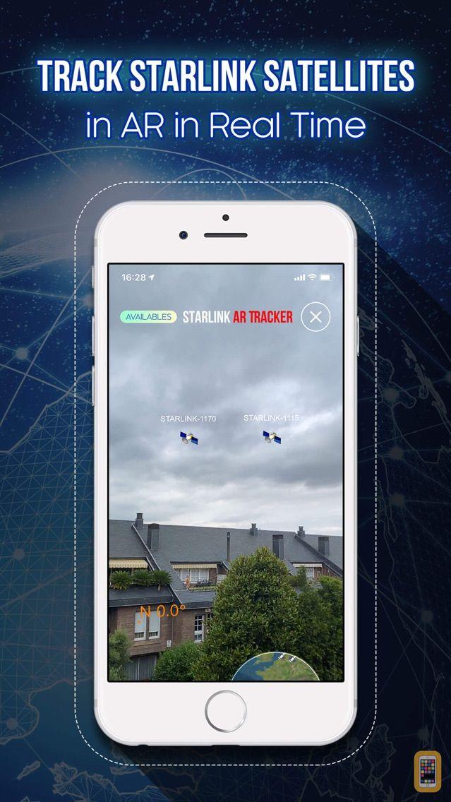Screenshot - Starlink AR Tracker