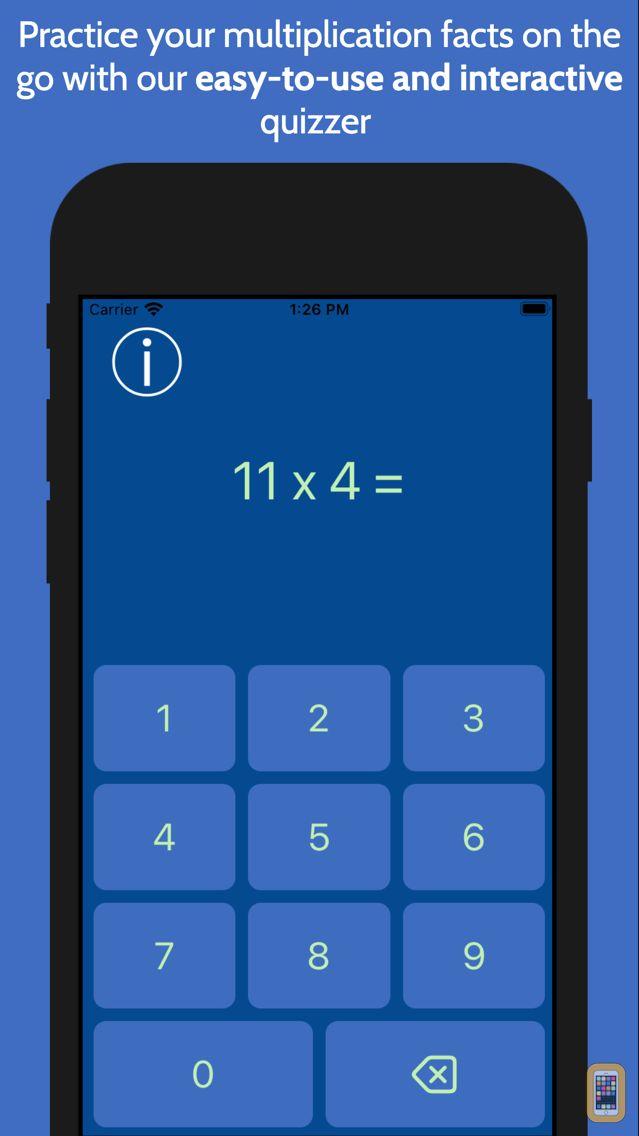 Screenshot - Multiplication Facts Fast