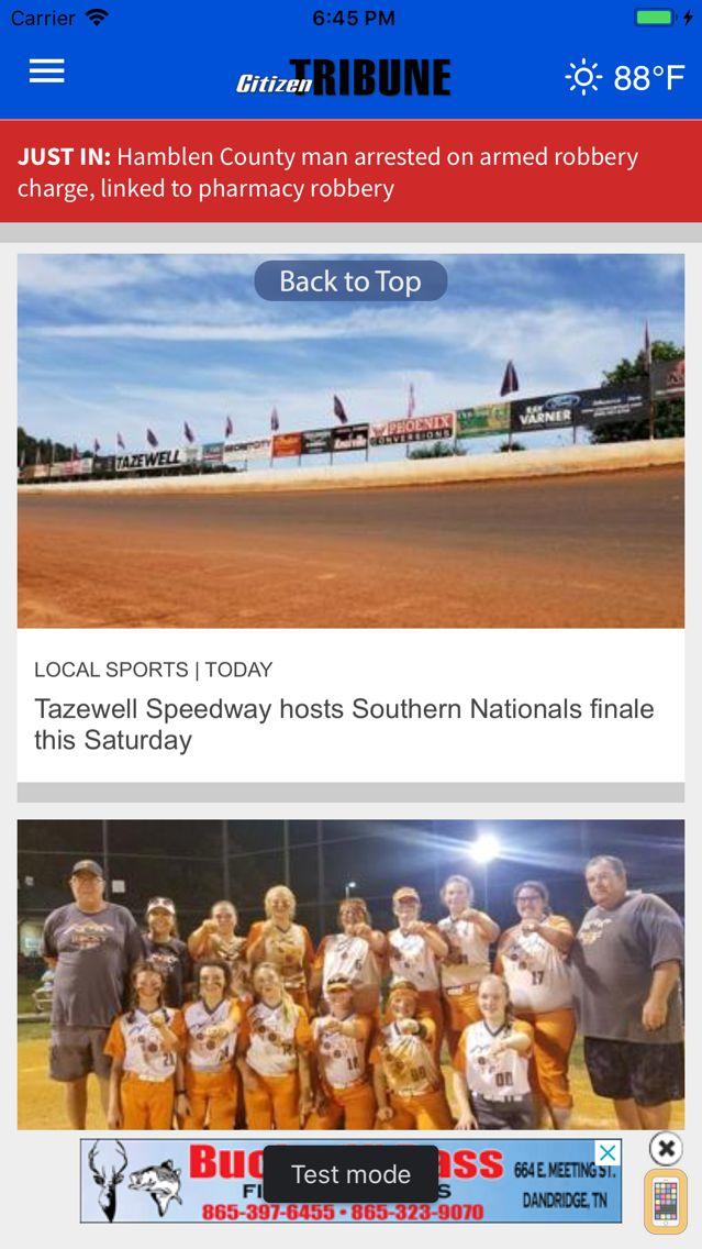Screenshot - Citizen Tribune