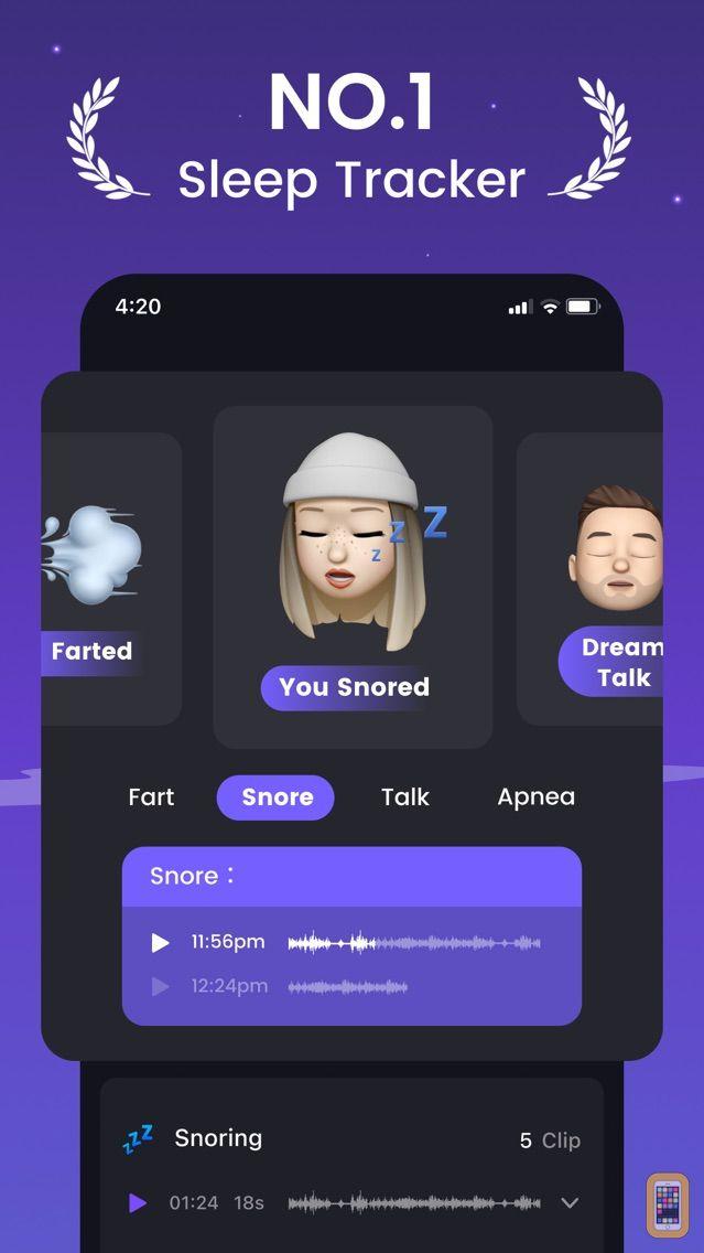 Screenshot - Mintal Tracker:Sleep Recorder