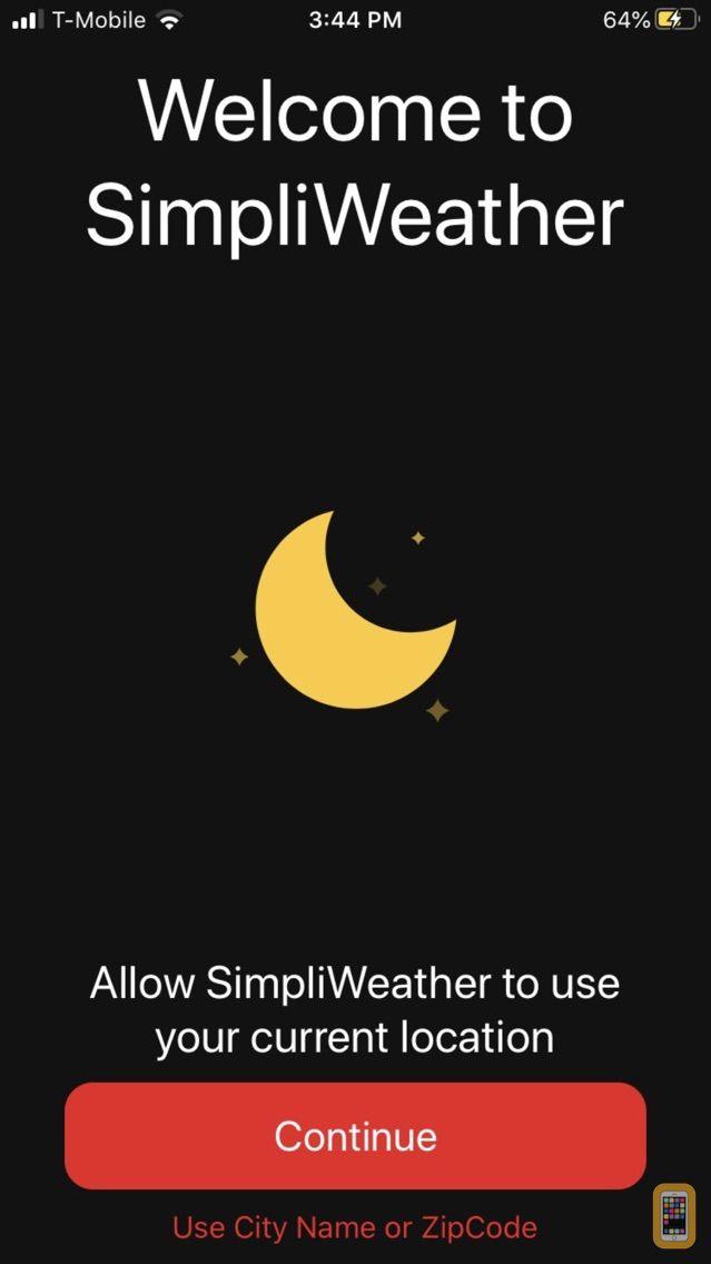 Screenshot - SimpliWeather App