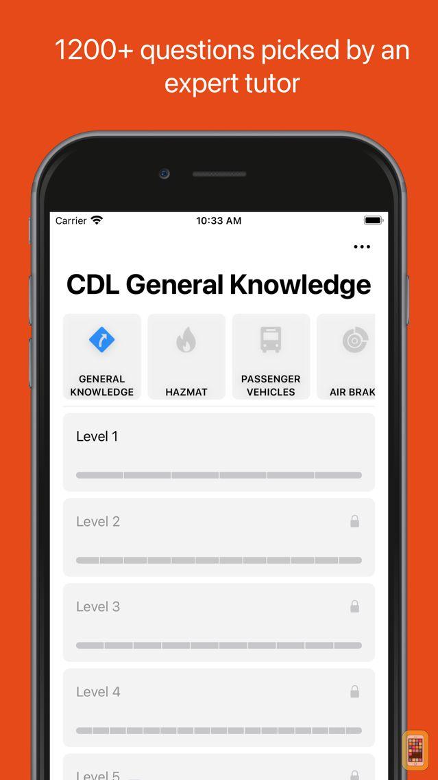 Screenshot - CDL® Practice Test