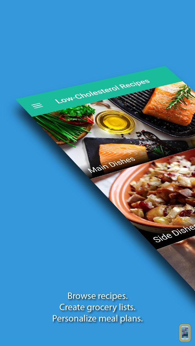 Screenshot - Low-Cholesterol Recipes & Eats