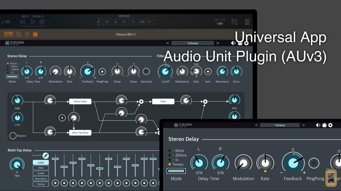 Screenshot - Yukawa - AUv3 Plugin Effect