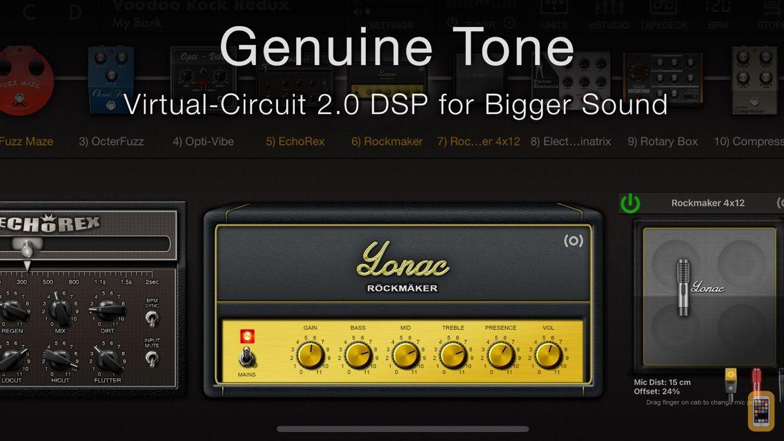 Screenshot - ToneStack PRO Guitar Amps & FX