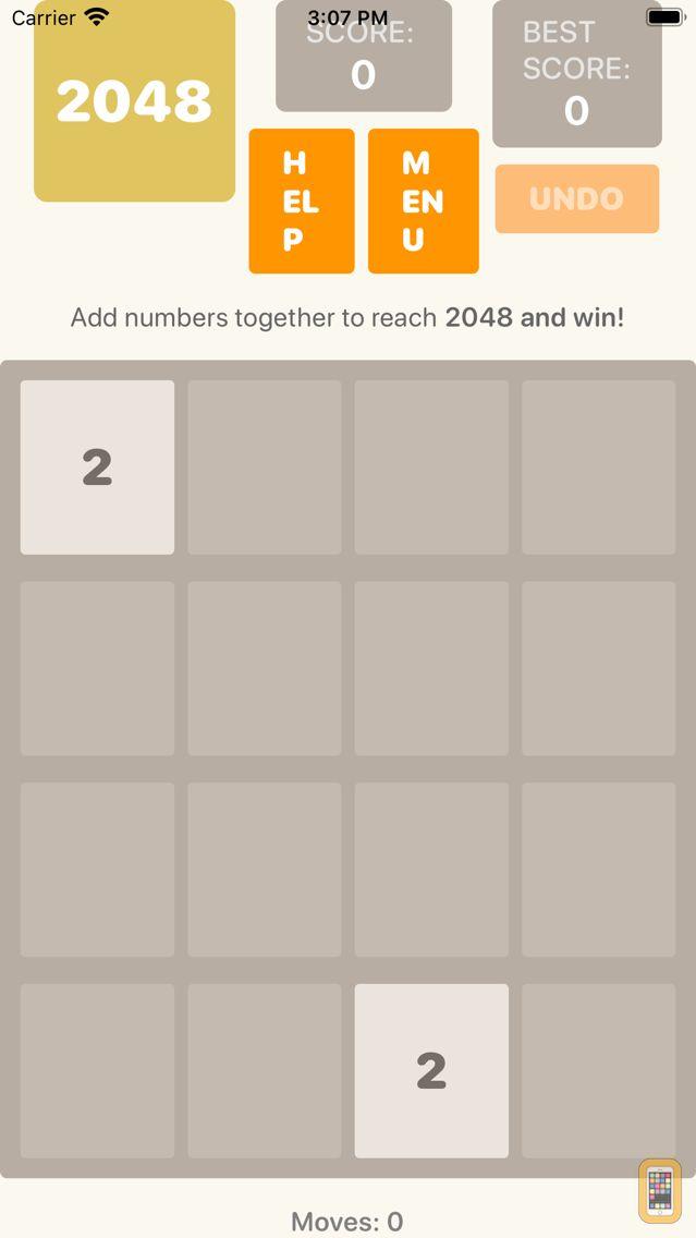 Screenshot - Accessible 2048