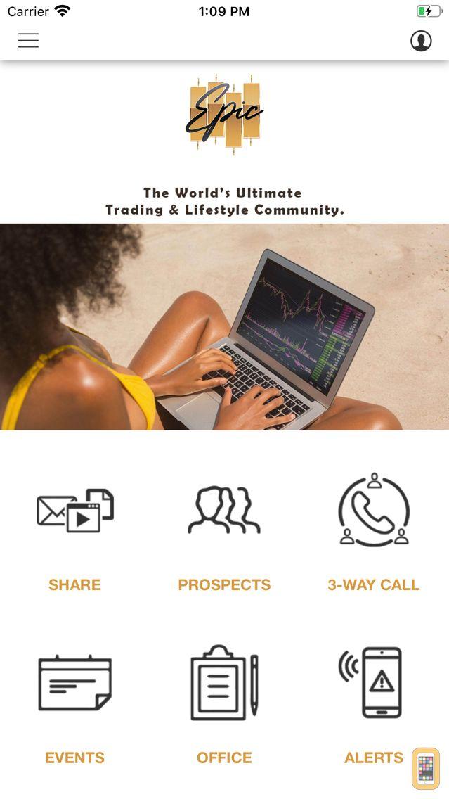 Screenshot - EPIC Trading