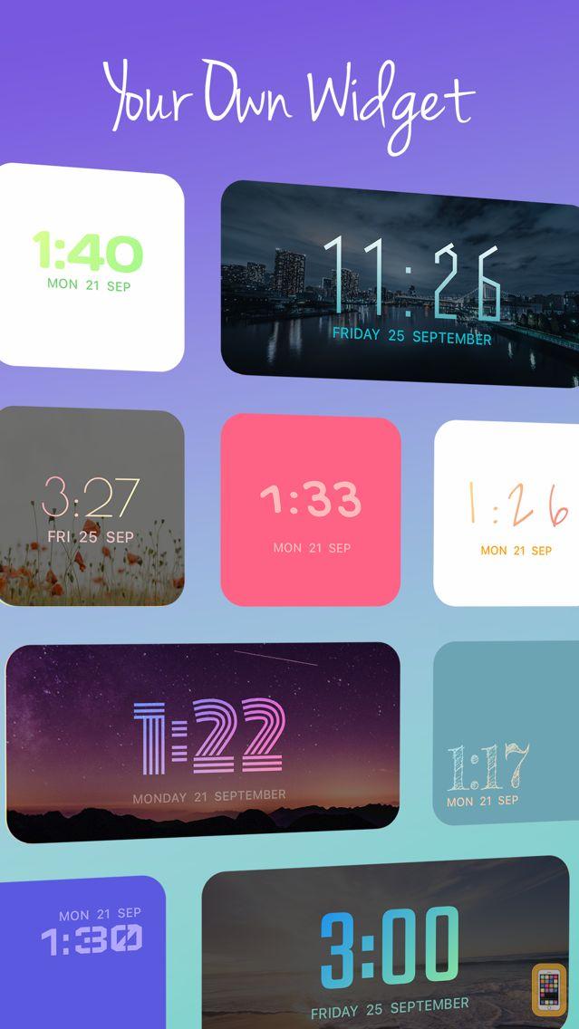 Screenshot - OnClock - Widget