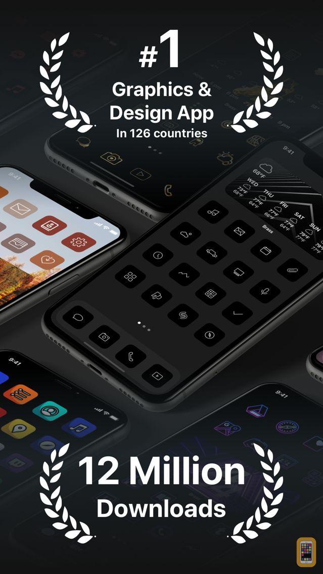 Screenshot - Brass - Custom Icons & Widgets