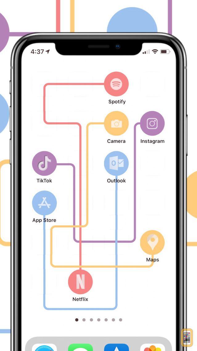 Screenshot - Transparent App Icons