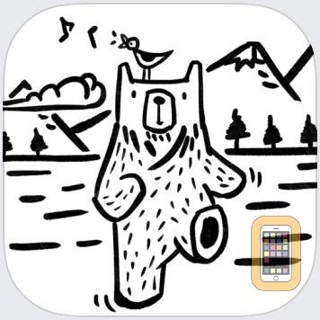 BWP - Bear Walking Pal ʕ·.· ʔ by IDEAMP Co.,Ltd. (iPhone)