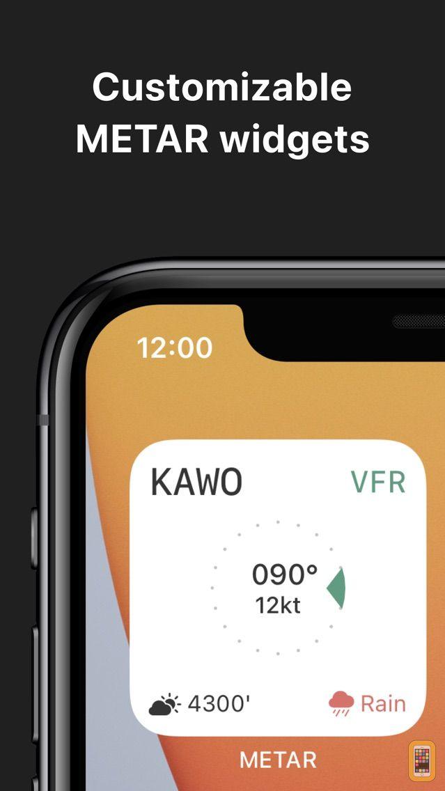 Screenshot - METAR Widgets