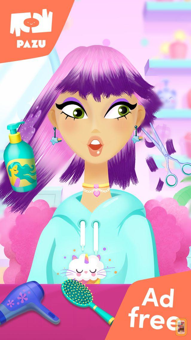 Screenshot - OMG! Girls - Hair Salon Games