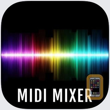 MidiMixer for AUM Auv3 Plugin by 4Pockets.com (Universal)