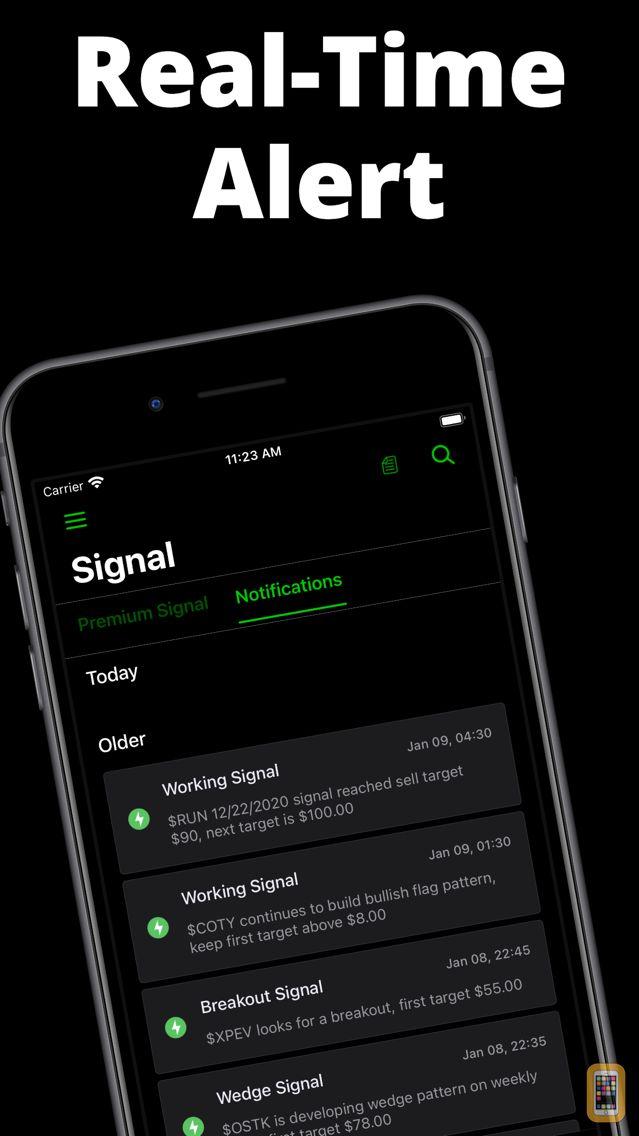 Screenshot - Stocks Signal