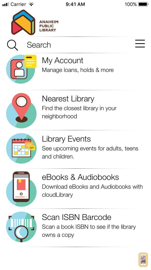 Screenshot - Anaheim Public Library