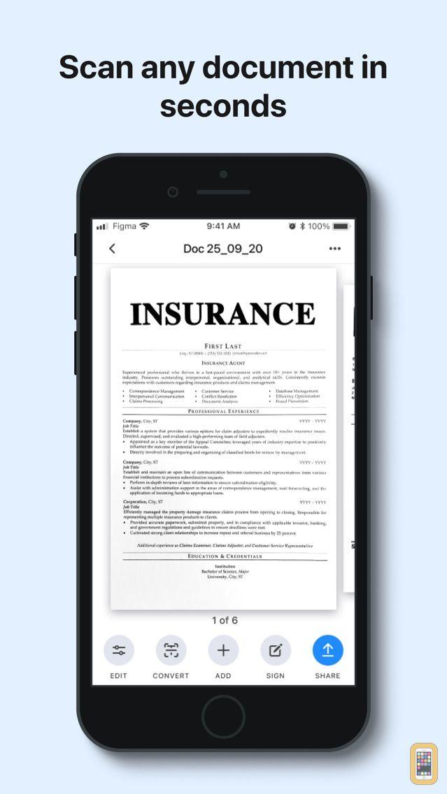 Screenshot - uScan - PDF Document Scanner