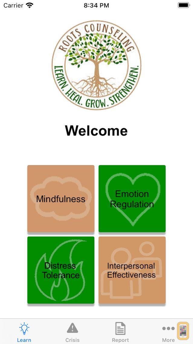 Screenshot - Roots Counseling