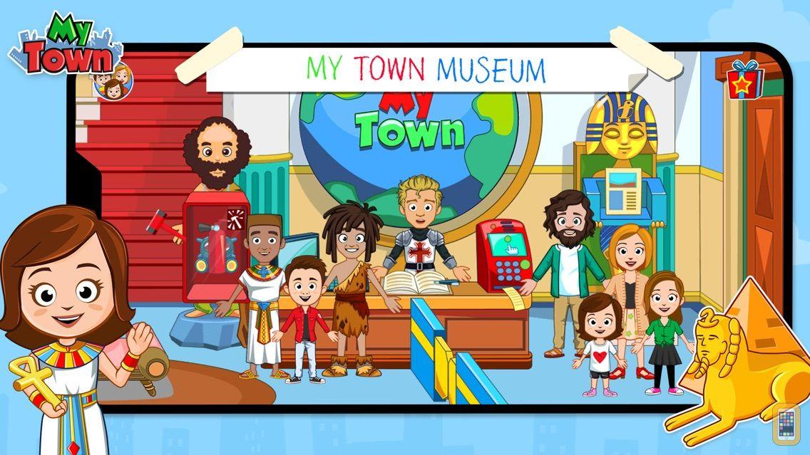 Screenshot - My Town : Museum History