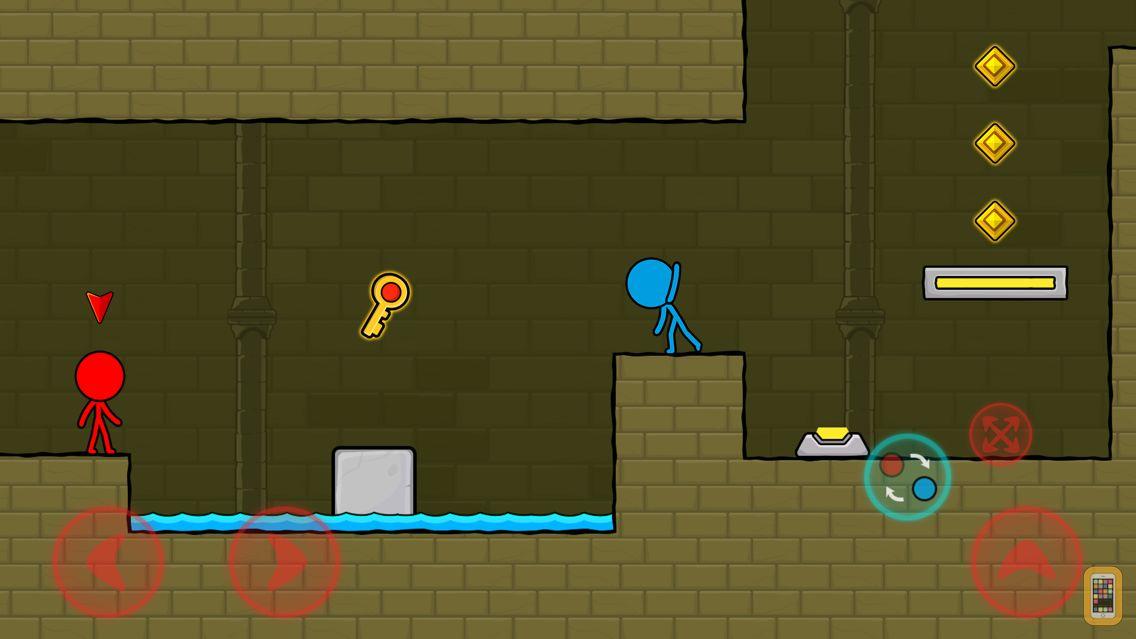 Screenshot - Red & Blue Stickman