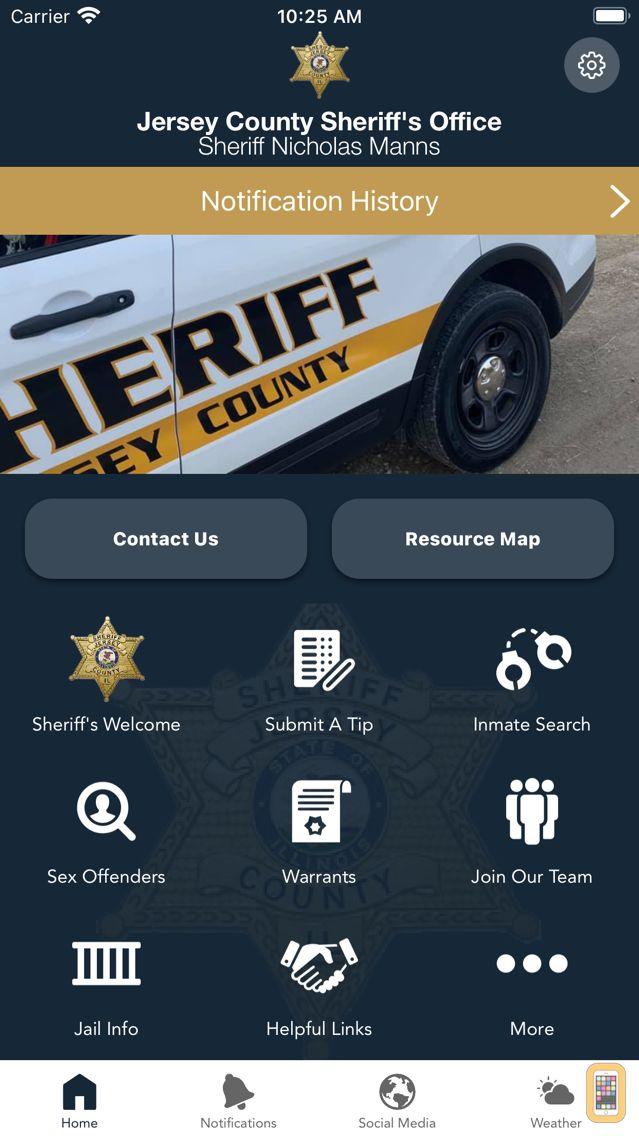 Screenshot - Jersey County Sheriff IL