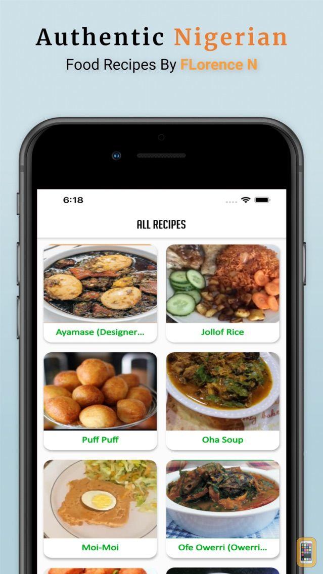 Screenshot - Nigerian FoodRecipe Florence N