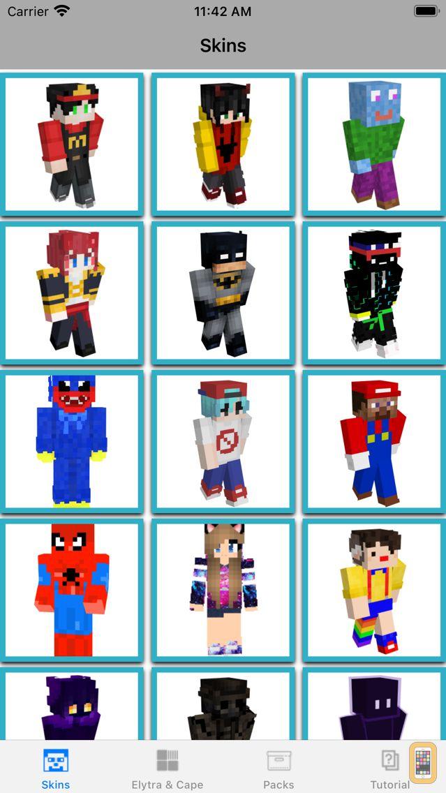 Screenshot - Skins & Skinseed for Minecraft