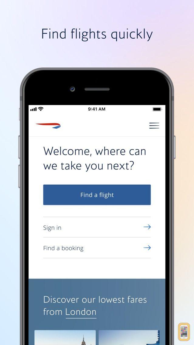 Screenshot - British Airways