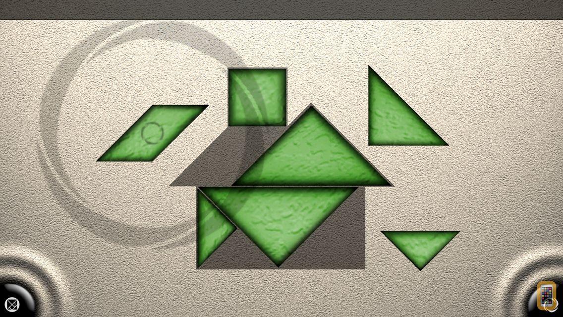 Screenshot - TanZen - Relaxing tangram puzzles