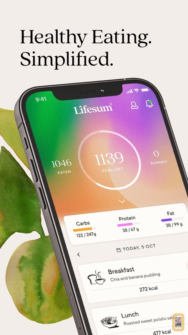 Screenshot - Lifesum: Diet & Macro Tracker