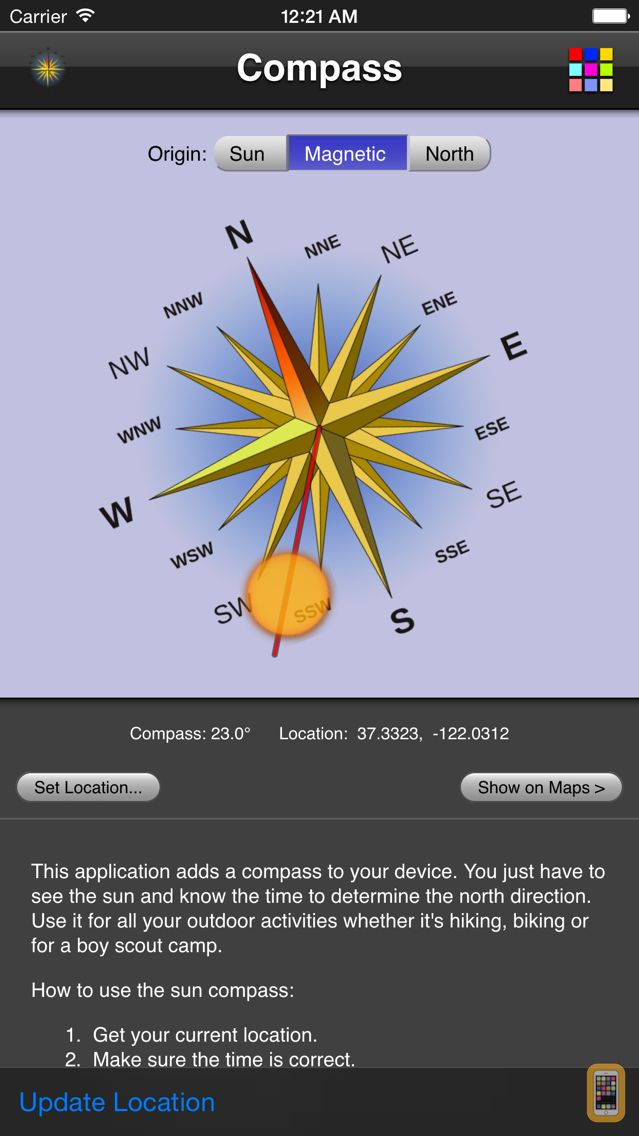 Screenshot - Compass