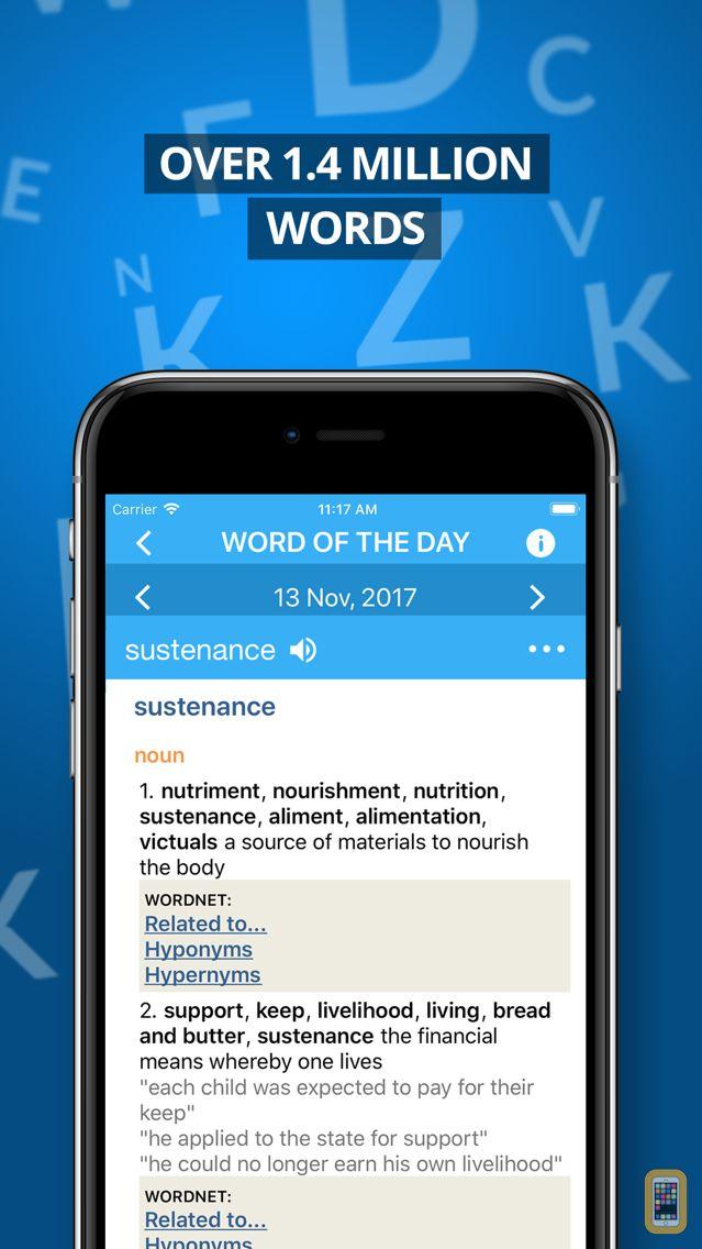 Screenshot - Advanced Dictionary&Thesaurus