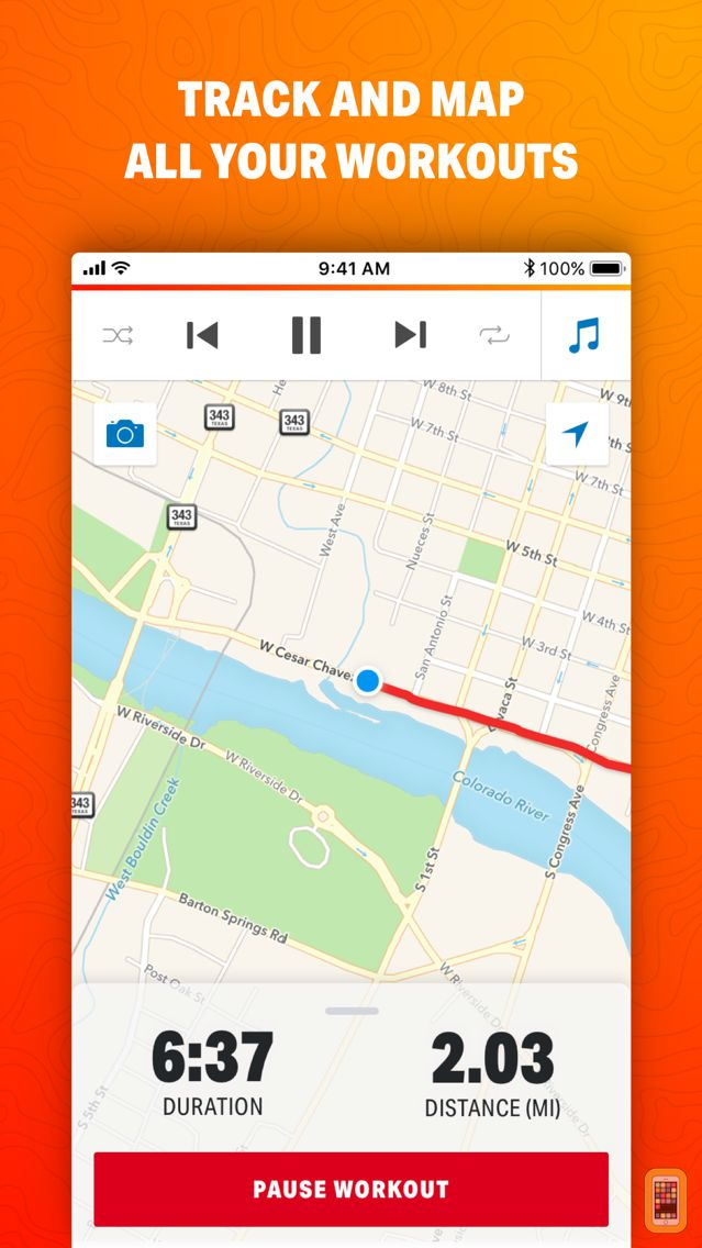 Screenshot - Map My Ride by Under Armour
