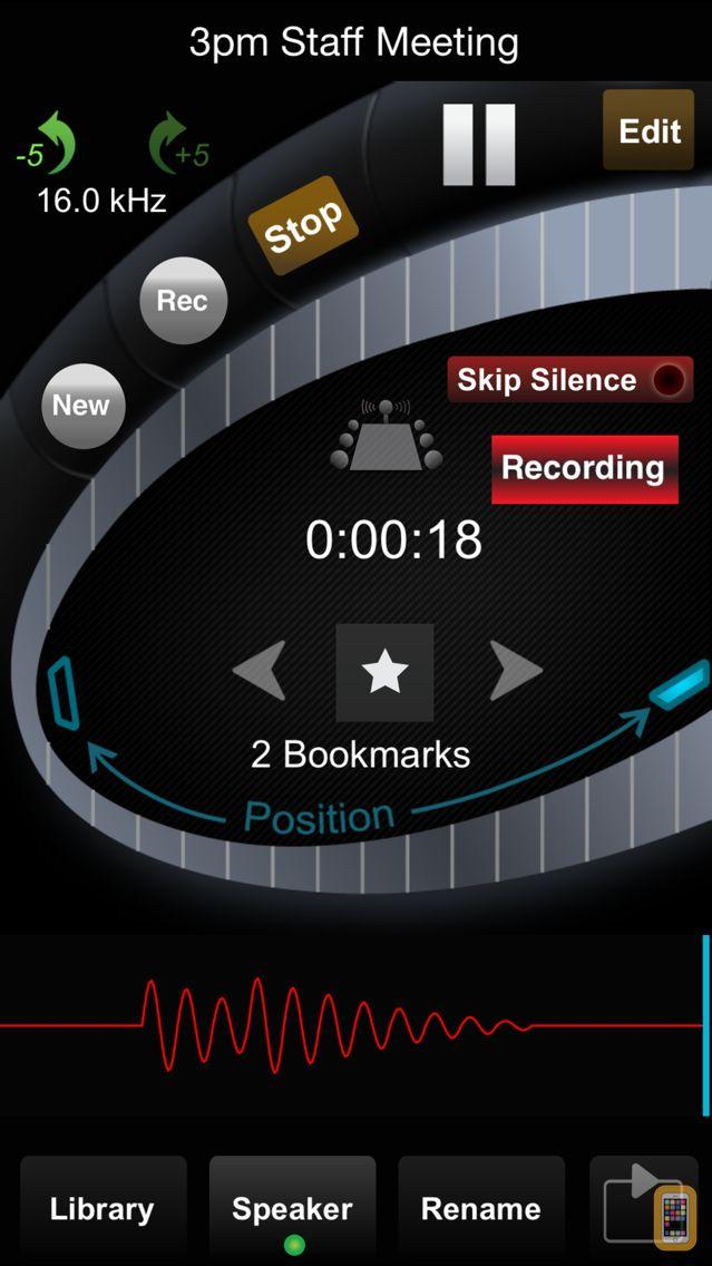 Screenshot - HT Professional Recorder