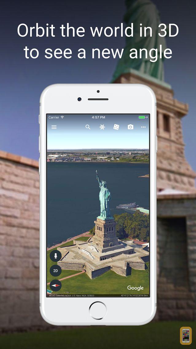 Screenshot - Google Earth