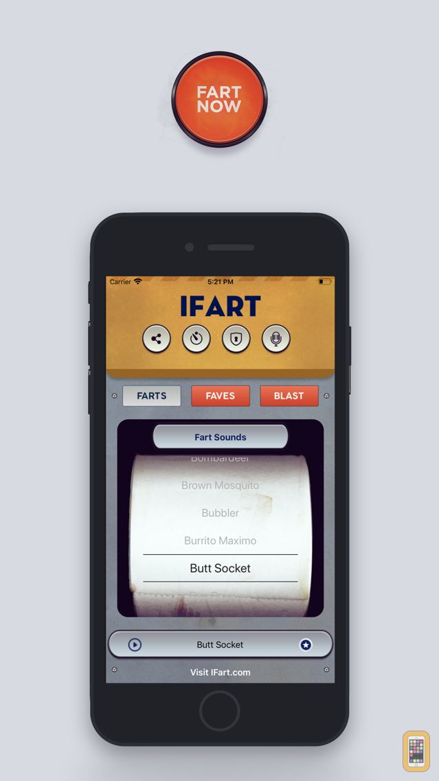 Screenshot - iFart - Fart Sounds App