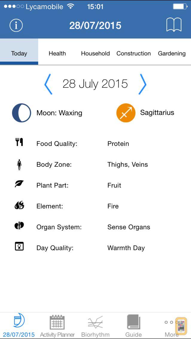 Screenshot - The Lunar Calendar