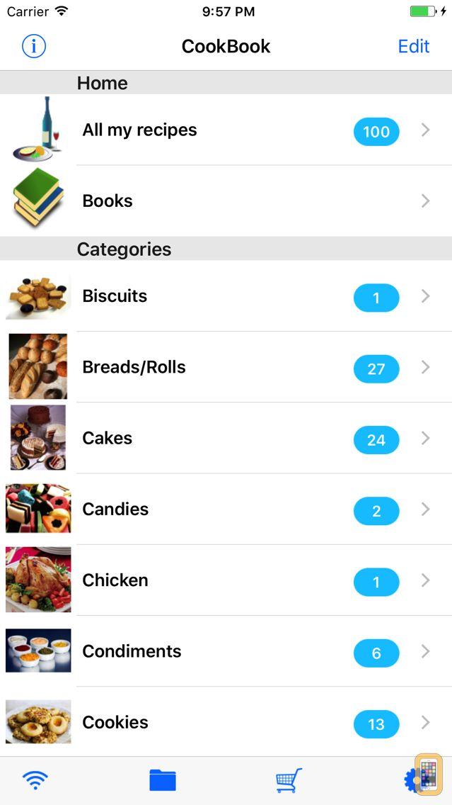 Screenshot - Handy CookBook