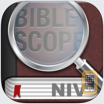 BibleScope with NIV, The Message and ERV by haMedia (Universal)
